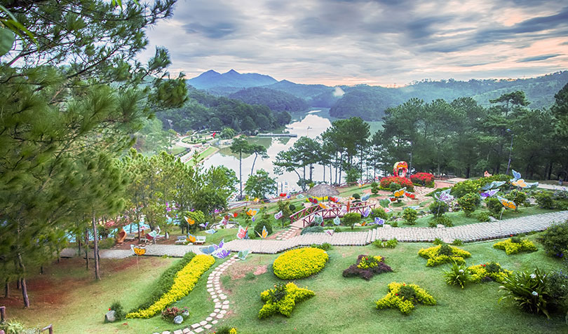 Da Lat - Welcome to the festival of thousands of flowers