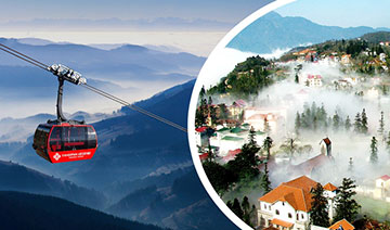 Sapa Tour - discover Fansipan by cable car